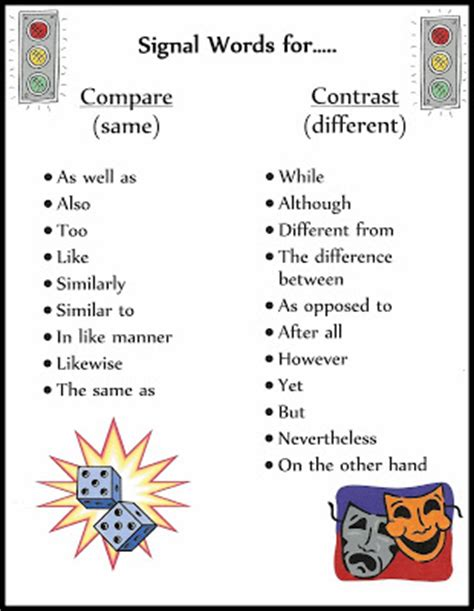 Cool compare and contrast essay topics